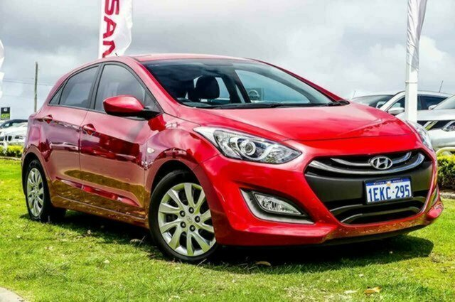 Used Hyundai i30 GD2 Active Albion, 2014 Hyundai i30 GD2 Active Red 6 Speed Sports Automatic Hatchback