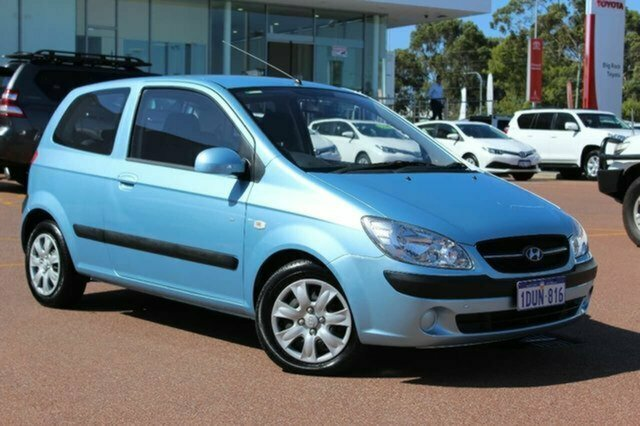Used Hyundai Getz TB MY09 S Albion, 2010 Hyundai Getz TB MY09 S Blue 5 Speed Manual Hatchback