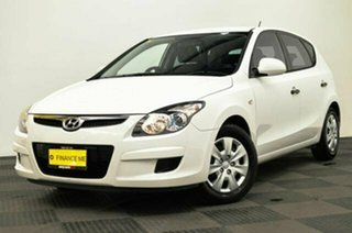 2011 Hyundai i30 FD MY11 SX White 4 Speed Automatic Hatchback.