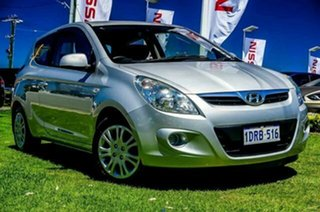 2011 Hyundai i20 PB MY11 Active Silver 5 Speed Manual Hatchback.