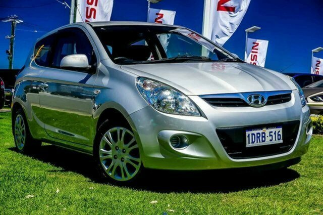 Used Hyundai i20 PB MY11 Active Albion, 2011 Hyundai i20 PB MY11 Active Silver 5 Speed Manual Hatchback