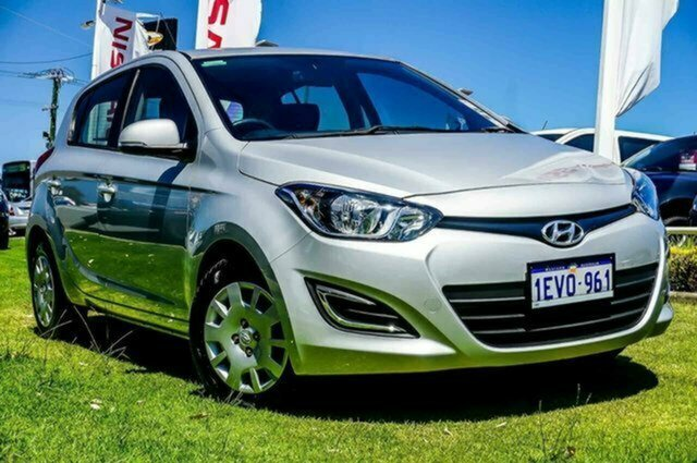Used Hyundai i20 PB MY15 Active Albion, 2015 Hyundai i20 PB MY15 Active Silver 4 Speed Automatic Hatchback