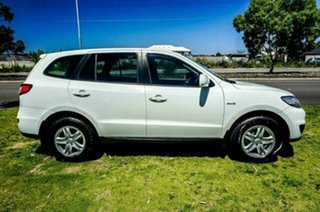 2010 Hyundai Santa Fe CM MY10 SLX White 6 Speed Sports Automatic Wagon.