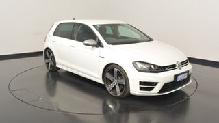 2017 Volkswagen Golf VII MY17 R DSG 4MOTION Pure White 6 Speed Sports Automatic Dual Clutch