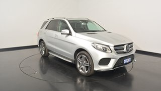 2016 Mercedes-Benz GLE250 W166 807MY d 9G-TRONIC 4MATIC Silver 9 Speed Sports Automatic Wagon.