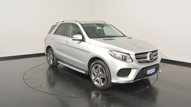 Used Mercedes-Benz GLE250 W166 807MY d 9G-TRONIC 4MATIC, 2016 Mercedes-Benz GLE250 W166 807MY d 9G-TRONIC 4MATIC Silver 9 Speed Sports Automatic Wagon