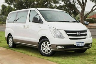 2012 Hyundai iMAX TQ-W MY13 White 5 Speed Automatic Wagon.