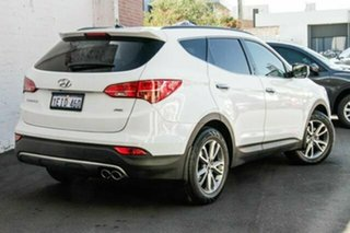 2013 Hyundai Santa Fe DM MY13 Elite White 6 Speed Sports Automatic Wagon.