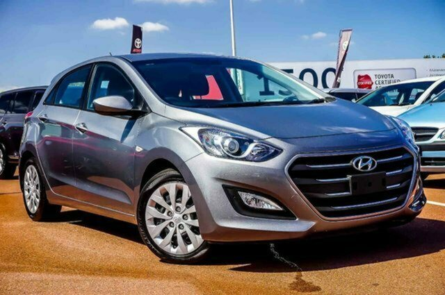 Used Hyundai i30 GD4 Series II MY17 Active Albion, 2016 Hyundai i30 GD4 Series II MY17 Active Grey 6 Speed Sports Automatic Hatchback