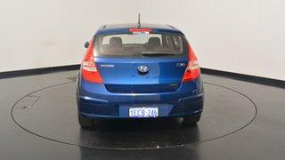 2012 Hyundai i30 FD MY11 SX Santorini Blue 5 Speed Manual Hatchback