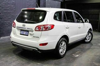 2011 Hyundai Santa Fe CM MY10 SLX White 6 Speed Sports Automatic Wagon.
