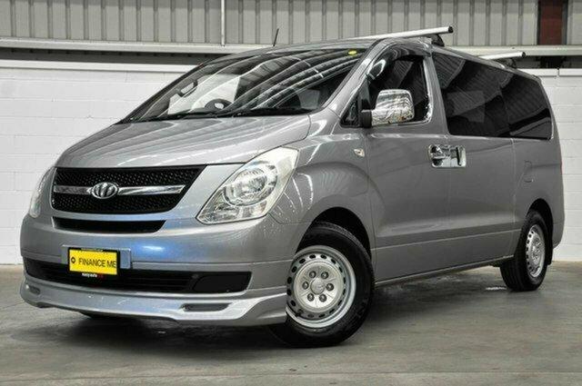 Used Hyundai iLOAD TQ-V Crew Cab Albion, 2011 Hyundai iLOAD TQ-V Crew Cab Grey 5 Speed Sports Automatic Van