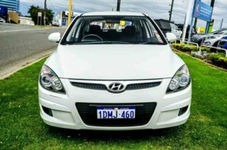 2010 Hyundai i30 FD MY10 SX White 5 Speed Manual Hatchback