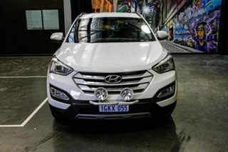 2014 Hyundai Santa Fe DM MY14 Active White 6 Speed Sports Automatic Wagon