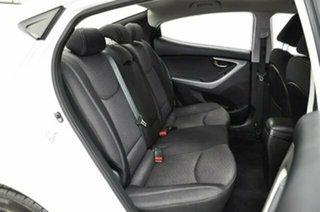 2013 Hyundai Elantra MD3 Active White 6 Speed Sports Automatic Sedan