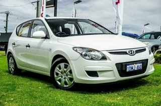 2010 Hyundai i30 FD MY10 SX White 5 Speed Manual Hatchback.