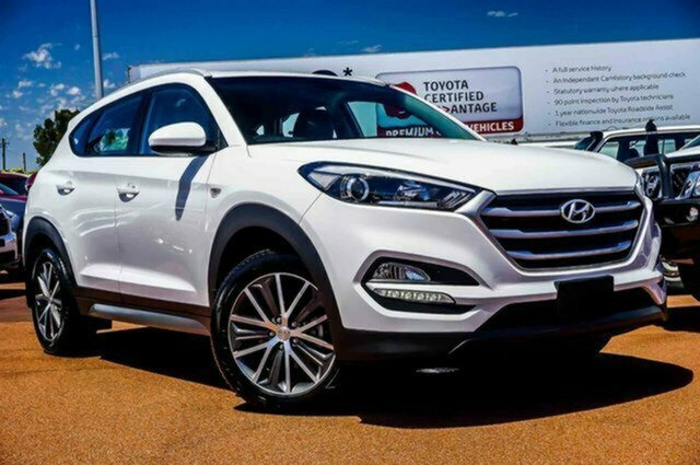 Used Hyundai Tucson TL Active X 2WD Albion, 2016 Hyundai Tucson TL Active X 2WD White 6 Speed Sports Automatic Wagon