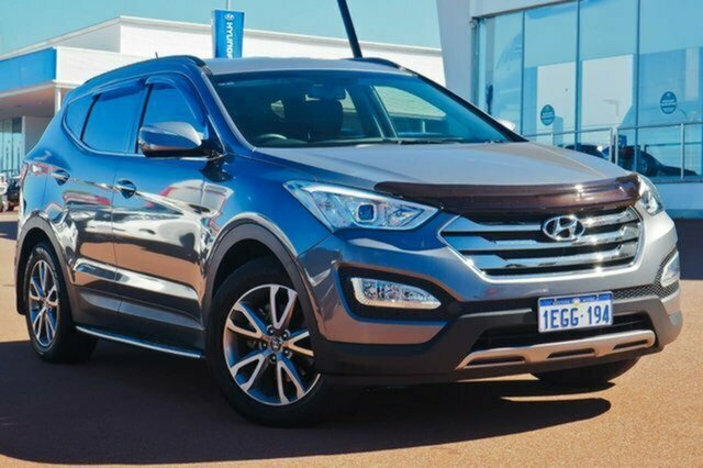 Used Hyundai Santa Fe DM MY13 Elite Albion, 2013 Hyundai Santa Fe DM MY13 Elite Grey 6 Speed Sports Automatic Wagon