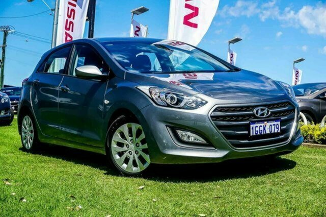 Used Hyundai i30 GD4 Series II MY17 Active Albion, 2017 Hyundai i30 GD4 Series II MY17 Active Grey 6 Speed Sports Automatic Hatchback
