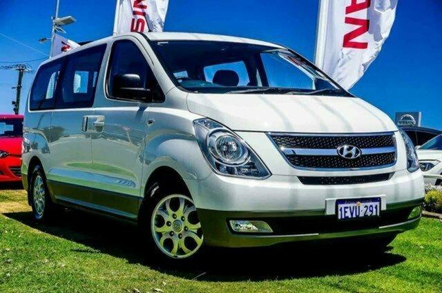 Used Hyundai iMAX TQ-W MY15 Albion, 2015 Hyundai iMAX TQ-W MY15 White 5 Speed Automatic Wagon