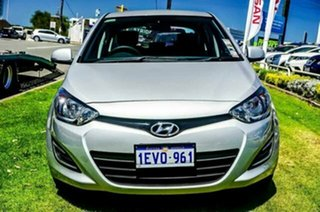 2015 Hyundai i20 PB MY15 Active Silver 4 Speed Automatic Hatchback