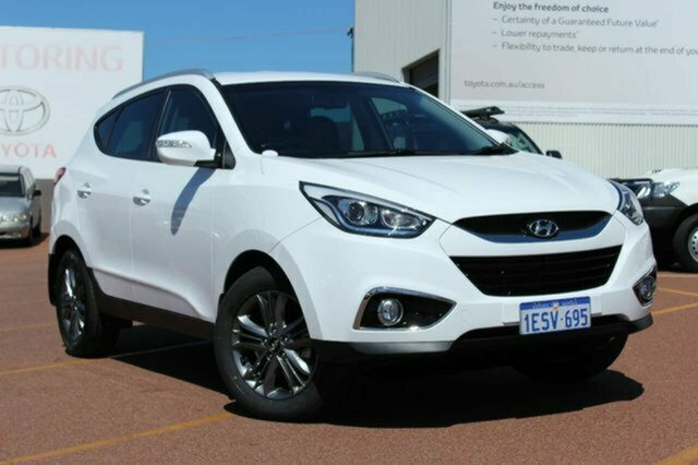 Used Hyundai ix35 LM3 MY15 SE Albion, 2015 Hyundai ix35 LM3 MY15 SE White 6 Speed Sports Automatic Wagon