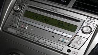 2011 Toyota Yaris NCP93R MY11 YRS Red 4 Speed Automatic Sedan