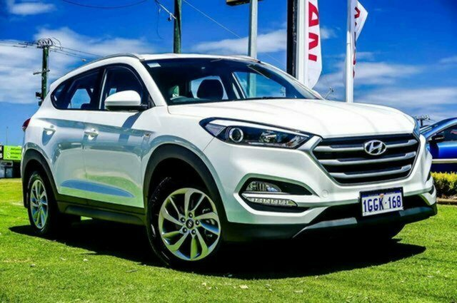 Used Hyundai Tucson TLe MY17 Active 2WD Albion, 2017 Hyundai Tucson TLe MY17 Active 2WD White 6 Speed Sports Automatic Wagon