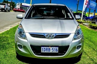 2011 Hyundai i20 PB MY11 Active Silver 5 Speed Manual Hatchback