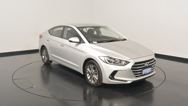 Used Hyundai Elantra AD MY17 Active, 2017 Hyundai Elantra AD MY17 Active Platinum Silver 6 Speed Sports Automatic Sedan