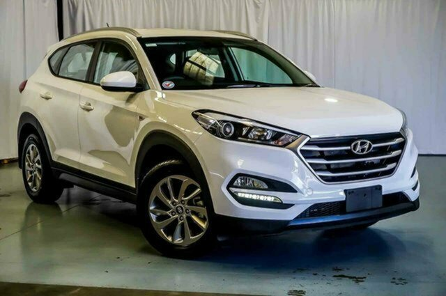 Used Hyundai Tucson TLe MY17 Active AWD Albion, 2017 Hyundai Tucson TLe MY17 Active AWD White 6 Speed Sports Automatic Wagon