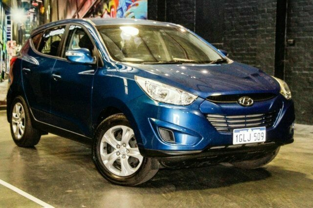 Used Hyundai ix35 LM2 Active Albion, 2012 Hyundai ix35 LM2 Active Blue 6 Speed Sports Automatic Wagon