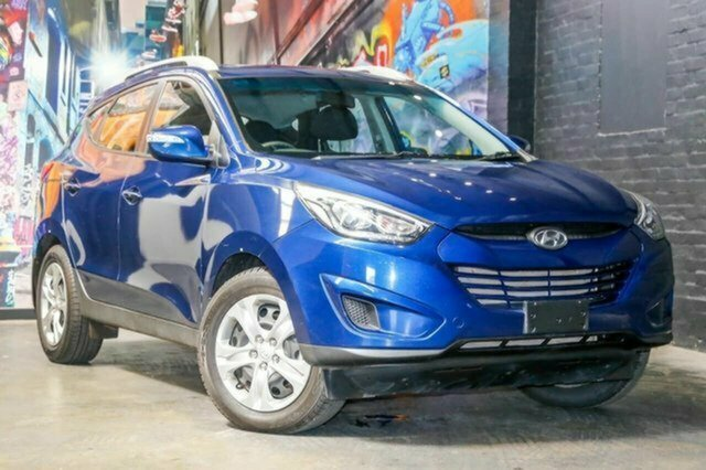 Used Hyundai ix35 LM3 MY15 Active Albion, 2014 Hyundai ix35 LM3 MY15 Active Blue 6 Speed Sports Automatic Wagon