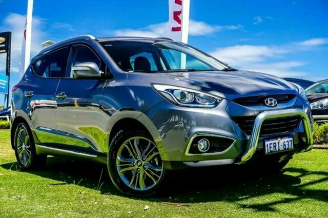 Used Hyundai ix35 LM3 MY15 SE Albion, 2014 Hyundai ix35 LM3 MY15 SE Steel Grey 6 Speed Sports Automatic Wagon