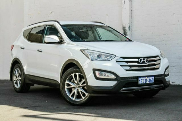 Used Hyundai Santa Fe DM MY13 Elite Albion, 2013 Hyundai Santa Fe DM MY13 Elite White 6 Speed Sports Automatic Wagon
