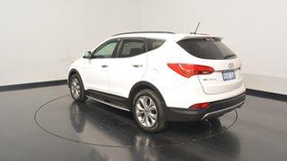 2015 Hyundai Santa Fe DM2 MY15 Highlander Creamy White 6 Speed Sports Automatic Wagon.