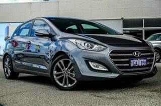 2016 Hyundai i30 GD4 Series II MY17 SR Sparkling Metal 6 Speed Sports Automatic Hatchback.