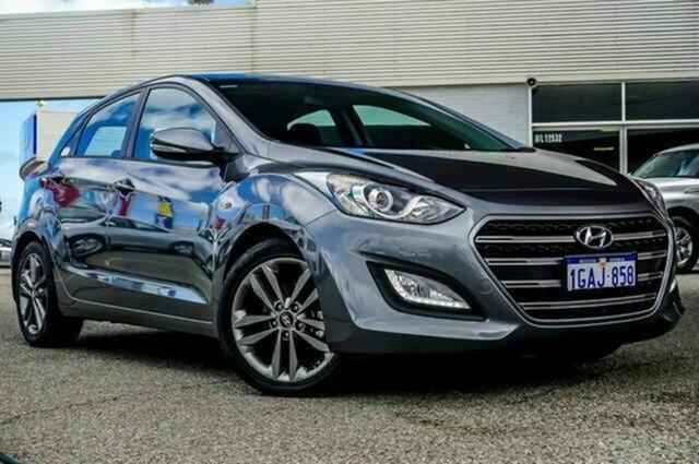 Used Hyundai i30 GD4 Series II MY17 SR Albion, 2016 Hyundai i30 GD4 Series II MY17 SR Sparkling Metal 6 Speed Sports Automatic Hatchback