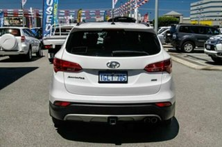 2015 Hyundai Santa Fe DM2 MY15 Elite White 6 Speed Sports Automatic Wagon.