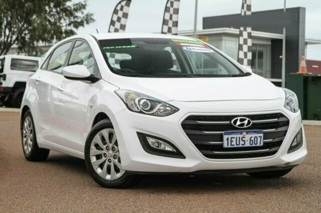 Used Hyundai i30 GD4 Series II MY16 Active Albion, 2015 Hyundai i30 GD4 Series II MY16 Active White 6 Speed Sports Automatic Hatchback