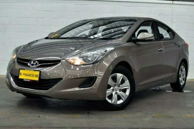Used Hyundai Elantra MD2 Active Albion, 2013 Hyundai Elantra MD2 Active Bronze 6 Speed Sports Automatic Sedan