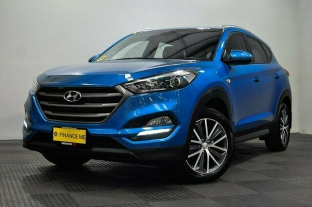 Used Hyundai Tucson TL Active X 2WD Albion, 2016 Hyundai Tucson TL Active X 2WD Blue 6 Speed Sports Automatic Wagon