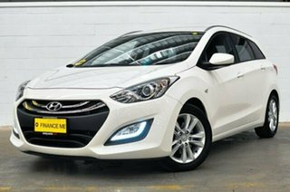 2013 Hyundai i30 GD Active Tourer White 6 Speed Sports Automatic Wagon.