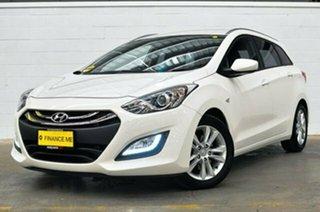 2013 Hyundai i30 GD Active Tourer White 6 Speed Sports Automatic Wagon.