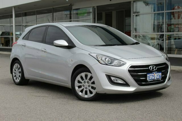 Used Hyundai i30 GD4 Series II MY17 Active Albion, 2016 Hyundai i30 GD4 Series II MY17 Active Silver 6 Speed Sports Automatic Hatchback
