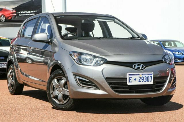 Used Hyundai i20 PB MY14 Active Albion, 2013 Hyundai i20 PB MY14 Active Grey 6 Speed Manual Hatchback