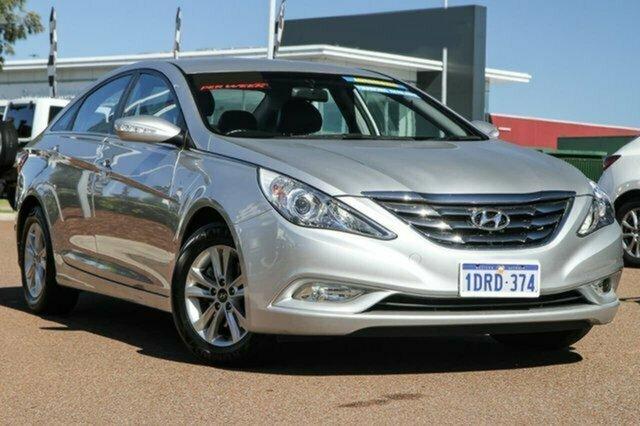 Used Hyundai i45 YF MY11 Elite Albion, 2011 Hyundai i45 YF MY11 Elite Silver 6 Speed Sports Automatic Sedan