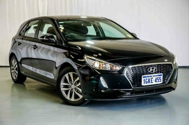 Used Hyundai i30 PD MY18 Active Albion, 2017 Hyundai i30 PD MY18 Active Black 6 Speed Sports Automatic Hatchback