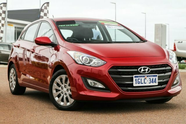 Used Hyundai i30 GD4 Series II MY17 Active Albion, 2016 Hyundai i30 GD4 Series II MY17 Active Red 6 Speed Sports Automatic Hatchback