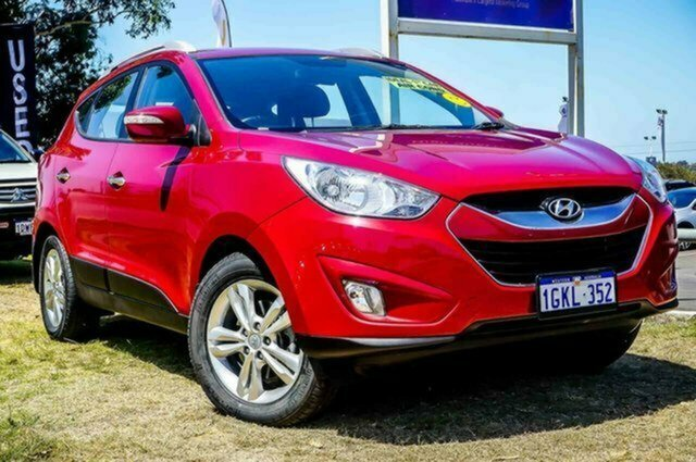 Used Hyundai ix35 LM MY11 Elite AWD Albion, 2011 Hyundai ix35 LM MY11 Elite AWD Red 6 Speed Sports Automatic Wagon